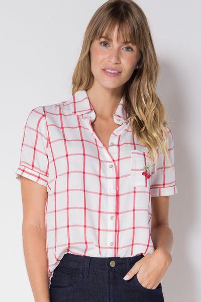 Camisa-tecido